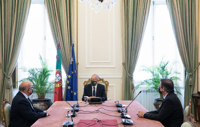 Audiência do Presidente da República ao Bastonário da Ordem dos Biólogos